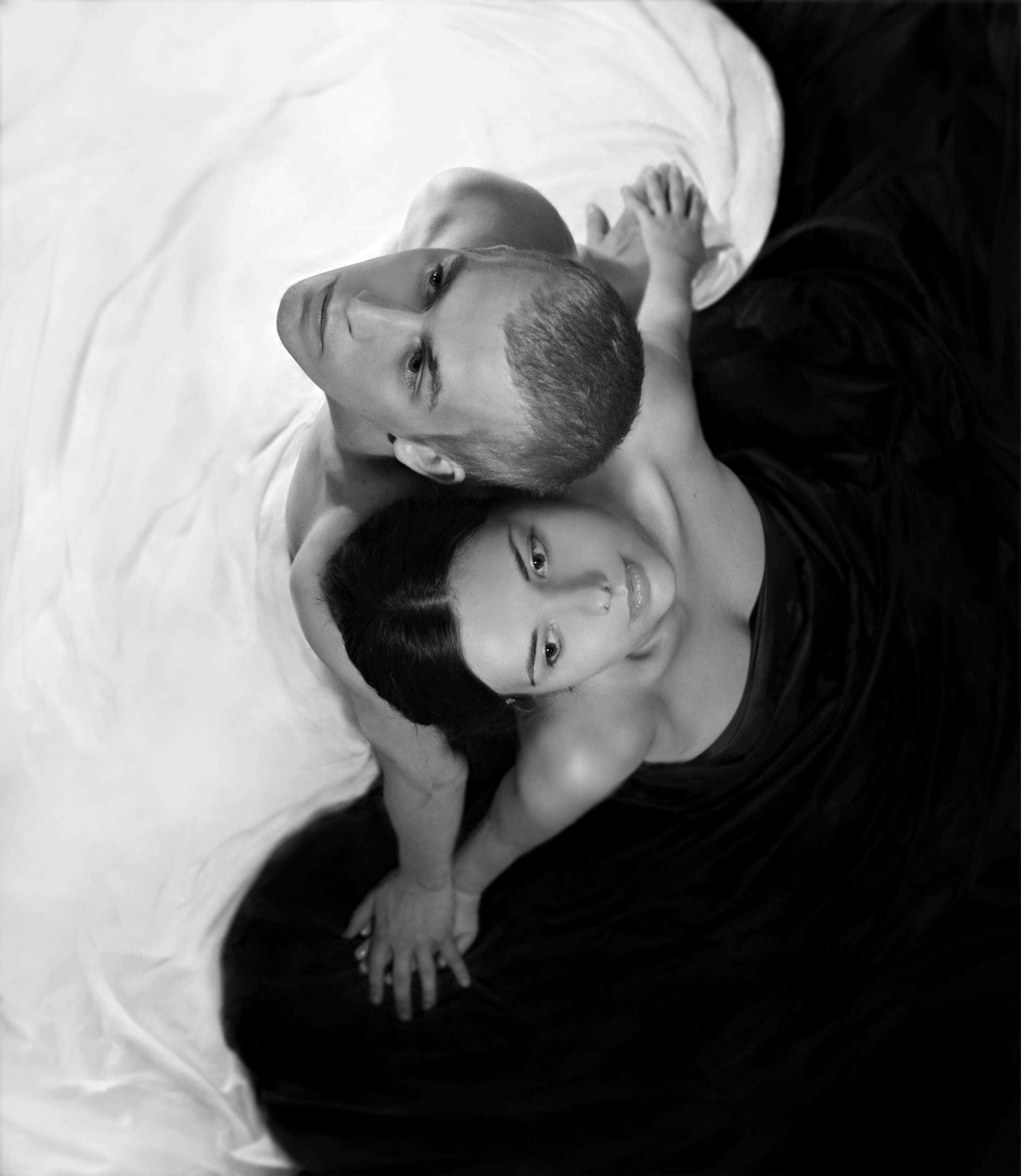 Картины девушек и мужчин